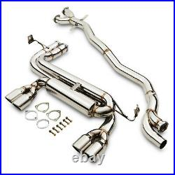 2.5 Stainless Cat Back Sport Exhaust System For Bmw 3 Series E46 M3 3.2 00-06
