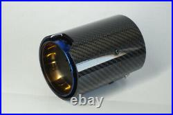 2PCS Carbon Fiber Exhaust tip For BMW 1234 M Performance exhaust pipe upgrade