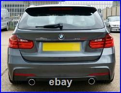 AC Schnitzer BMW F30 series exhaust silencer for 320, 328i, 330i 1812230142