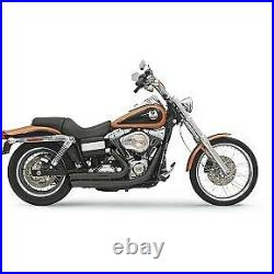 Bassani Black FireSweep Firepower Series Exhaust System for 06-17 FXD Dyna