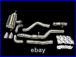 Becker Performance Turbo Exhaust For BMW 2014-2016 M235i 3.0L