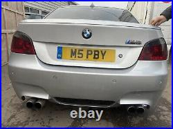 Bmw E60 5 Series Quad Exhaust For M5 Style Rear Bumper