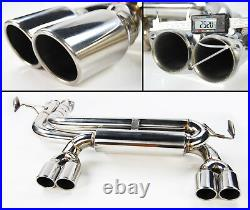 Coupe & Convertible Exhaust Backbox Quad For Bmw 3 Series E46 3.2 M3 1998-2005