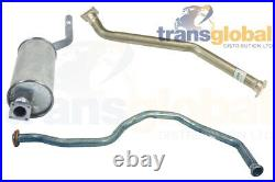 Exhaust Front Centre & Silencer Kit for Land Rover Series 3 109 2.25 D 74-84
