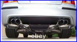 FOR BMW Dual Stainless Steel Exhaust Tips 3 5-series 2.5 3.5 Quad Outlets E39