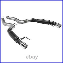 Flowmaster Outlaw Series Axle Back Exhaust For 2015-2020 Ford Mustang 2.3L 3.7L