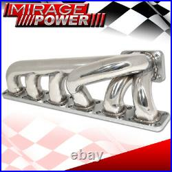 For 1992-1999 BMW 3-Series E36 M3 S50 S52 Stainless Exhaust T3 T4 Turbo Manifold
