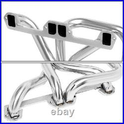 For 72-91 Dodge D/W-Series Pickup 5.2/5.9 Pair Long Tube Header Manifold Exhaust