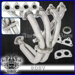 For 92-1995 Honda Civic 4-2-1 Ex D15/D16 Zc Sohc Stainless Racing Exhaust Header