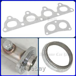For 96-00 Civic 2Dr 4Dr SOHC 4-2-1 Racing Stainless Exhaust Header Manifold