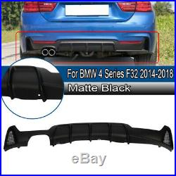 For Bmw 4 Series F32 F33 F36 Performance M Sport Rear Diffuser Exhaust Valance
