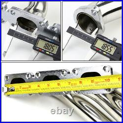 For Bmw E39/e46 3/5 Series Z3 2.5/3.0 V6 Stainless Steel Exhaust Header+gasket