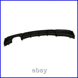 For Bmw F30 F31 3 Series M Sport Performance Rear Bumper Diffuser Twin Exhaust
