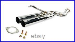 ISR Performance Series II EP Dual Exhaust Rear Section Only for BMW E36 3 Series