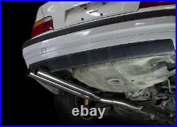 ISR Performance Series II EP Dual Resonated Cat Back Exhaust System for BMW E36