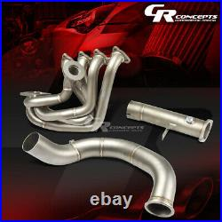 J2 For Honda B-series Cast Stainless Steel Top-mount Turbo Exhaust Manifold Kit