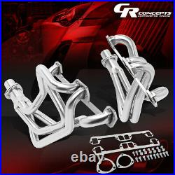 LONG TUBE EXHAUST HEADER MANIFOLD WithCOLLECTOR FOR 72-91 DODGE D/W-SERIES 5.2/5.9