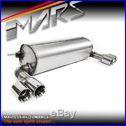 M Sports Style Twin Outlet Muffler Exhaust for BMW 3-Series F30 4 Series F32 F36