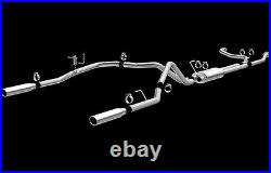 MAGNAFLOW MF SERIES STAINLESS CATBACK EXHAUST for 2007-2015 NISSAN TITAN 15582