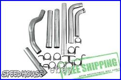 MBRP 4 in Turbo-Back Exhaust No Muffler for 03-07 Ford F-250/F-350 6.0L S6212PLM