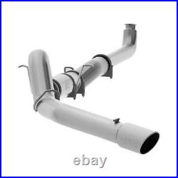 MBRP 5 Single Stainless Downpipe-Back Exhaust for GM Duramax 6.6L 01-07 EC/CC