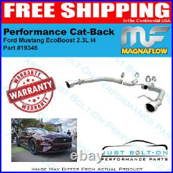 Magnaflow Race Series SS Axle-Back For 2015-2017 Mustang 3.7L V6 19345