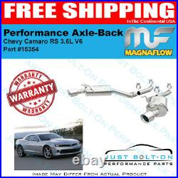 Magnaflow Street Series SS Axle-Back For 2010-2015 Camaro RS 3.6L V6 15354
