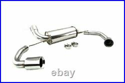 Megan Supremo Axle-Back Exhaust for BMW 3-Series G20 RWD 2019+ Stainless Tips