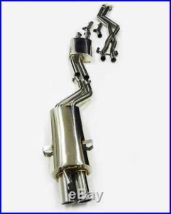 OBX Stainless Cat. Back Exhaust For BMW 1999-05 3-Serie E46 2.5 2.8 3.0L 4Dr