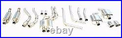 OBX Stainless Turboback Exhaust for 2012 to 2015 Audi A6 A7 C7 Series 3.0T