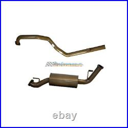 PACEMAKER STAINLESS 2.5 EXHAUST T/PIPE For TOYOTA LANDCRUISER 105 SERIES 4.5LT