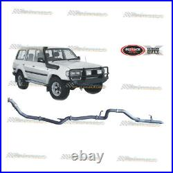 REDBACK EXTREME 3 EXHAUST PIPE ONLY For TOYOTA LANDCRUISER 80 SERIES 4.2LT TD