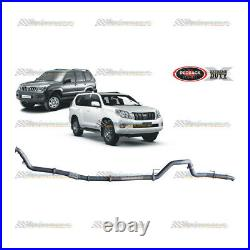 REDBACK EXTREME 3 EXHAUST PIPE ONLY For TOYOTA PRADO 120 150 SERIES D4D 3.0L
