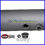 REDBACK TWIN 3 EXHAUST PIPE ONLY For TOYOTA LANDCRUISER 76 SERIES WAGON 4.5L