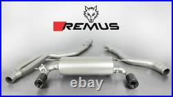 Remus Cat Back Exhaust System for 2015 BMW 3 Series F30 LCI Sedan F31 Touring