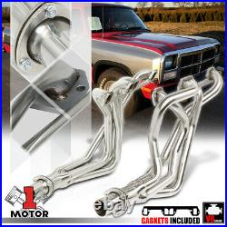 SS Long Tube Exhaust Header Manifold for 72-91 Dodge D/W Series Pickup 5.2/5.9