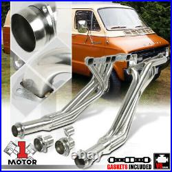 SS Long Tube Exhaust Header Manifold for 77-78 Dodge Pickup B/D-Series 6.6/7.2