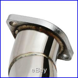 STAINLESS 2ND EXHAUST DE CAT DECAT DOWNPIPES FOR BMW 3 SERIES E90 E91 E92 335i