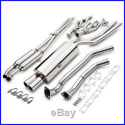 STAINLESS DE CAT BYPASS RACE EXHAUST SYSTEM FOR BMW E36 3 SERIES 325i 328i 91-99