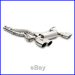 STAINLESS EXHAUST CATBACK SYSTEM FOR BMW 3 4 SERIES 3er 4er F80 F82 M3 M4 14+
