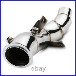 STAINLESS EXHAUST DE CAT BYPASS DECAT PIPE FOR BMW 3 SERIES F30 F31 320i 328i