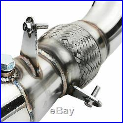 STAINLESS EXHAUST DE CAT BYPASS DOWNPIPE FOR BMW 4 SERIES F32 F33 F36 420i 428i