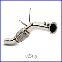 STAINLESS EXHAUST DE CAT BYPASS DPF DELETE PIPE FOR BMW 5 SERIES E60 E61 520d
