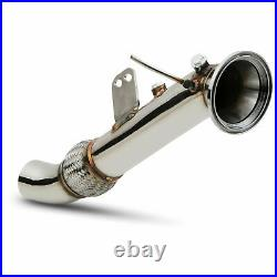 STAINLESS EXHAUST DE CAT BYPASS FOR BMW 3 4 SERIES F30 F32 F34 F36 340i 440i