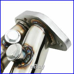 STAINLESS EXHAUST MANIFOLD DE CAT DECAT RACE FOR BMW 3 SERIES E90 E91 320i 05-07