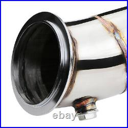 STAINLESS EXHAUST RACE DE CAT DECAT PIPE FOR BMW 1 SERIES F20 F21 125i 10-17