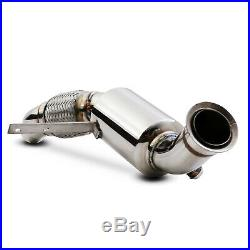 STAINLESS STEEL DECAT EXHAUST DE CAT TEST PIPE FOR BMW 1 SERIES E87 118d 120d