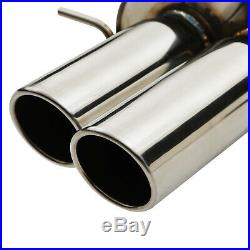 STAINLESS STEEL DPF BACK SPORT EXHAUST SYSTEM FOR BMW 5 SERIES E60 530d 03-05