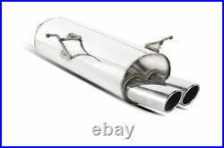 Scorpion Exhaust Rear Silencer for BMW 3 Series E46 316/318 (98-05)