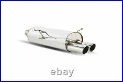 Scorpion Exhaust Rear Silencer for BMW 3 Series E46 320/325/330 (00-06)